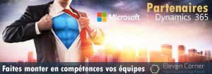 Partenaires Microsoft Dynamics CRM, faites monter en compétences vos équipes